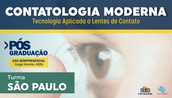 Pós-Graduação | Contatologia Moderna - Tecnologia Aplicada a Lentes de Contato [São Paulo]