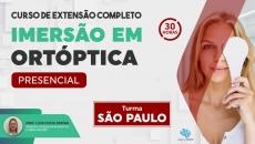 Curso Presencial Completo de Imersão em Ortóptica - São Paulo/SP