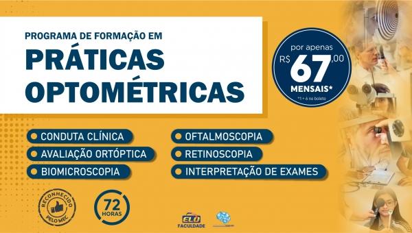 Programa Avançado de Formação Profissional em Práticas Optométricas