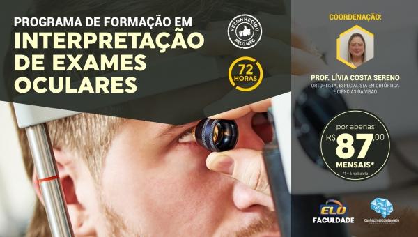 Programa de Formação Profissional em Interpretação de Exames Oculares