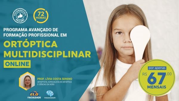 Programa Avançado de Formação Profissional em Ortóptica Multidisciplinar