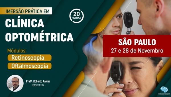 Imersão Prática em Clínica Optométrica - São Paulo/SP