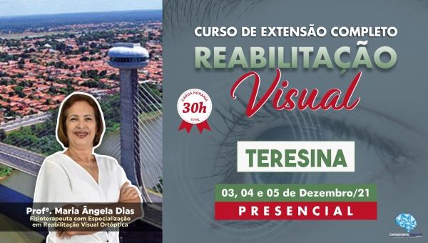 Curso Presencial Completo de Reabilitação Visual - Teresina/PI