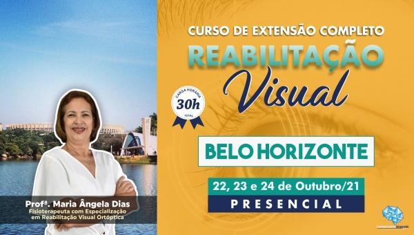 Curso Presencial Completo de Reabilitação Visual - Belo Horizonte/MG