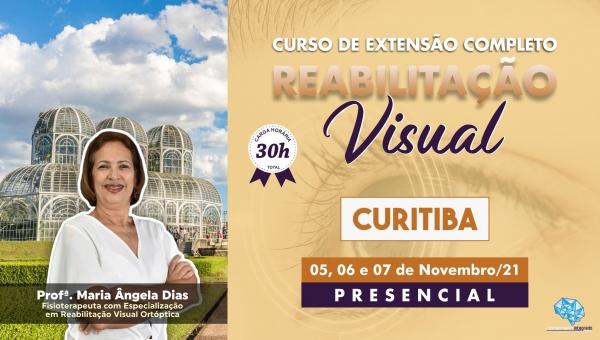 Curso Presencial Completo de Reabilitação Visual - Curitiba/PR