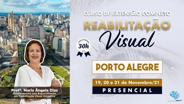 Curso Presencial Completo de Reabilitação Visual - Porto Alegre/RS