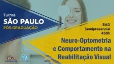 Pós-Graduação | Neuro-Optometria e Comportamento na Reabilitação Visual - São Paulo/SP