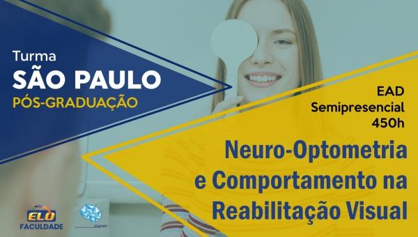 Pós-Graduação   Neuro-Optometria e Comportamento na Reabilitação Visual - São Paulo/SP