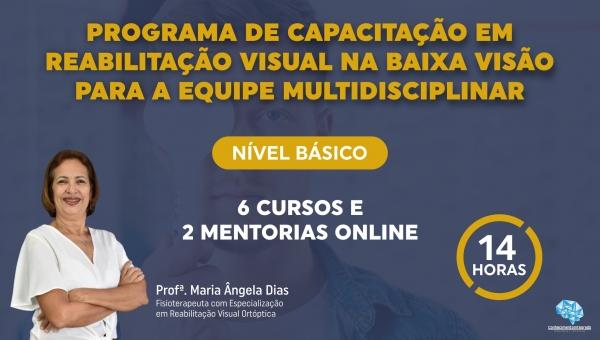Básico - Programa de Capacitação em Reabilitação Visual na Baixa Visão para a Equipe Multidisciplinar