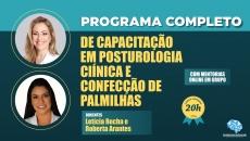 Programa Completo de Capacitação em Posturologia Clínica e Confecção de Palmilhas